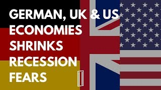 #TrumpRecession RECESSION FEARS GROW, GERMANY, UK & US STOCKS FALL ????‼️ (Part 1/2)