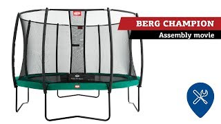 BERG Champion trampoline | assembly movie