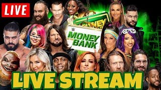 🔴 WWE MITB 2019 LIVE STREAM - Money In The Bank Live Reactions