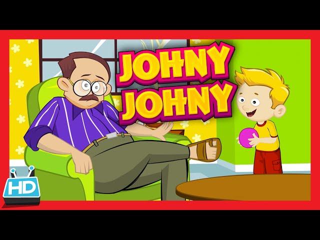 'Johny Johny Yes Papa' Nursery Rhyme