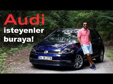 VW Golf Test Sürüşü
