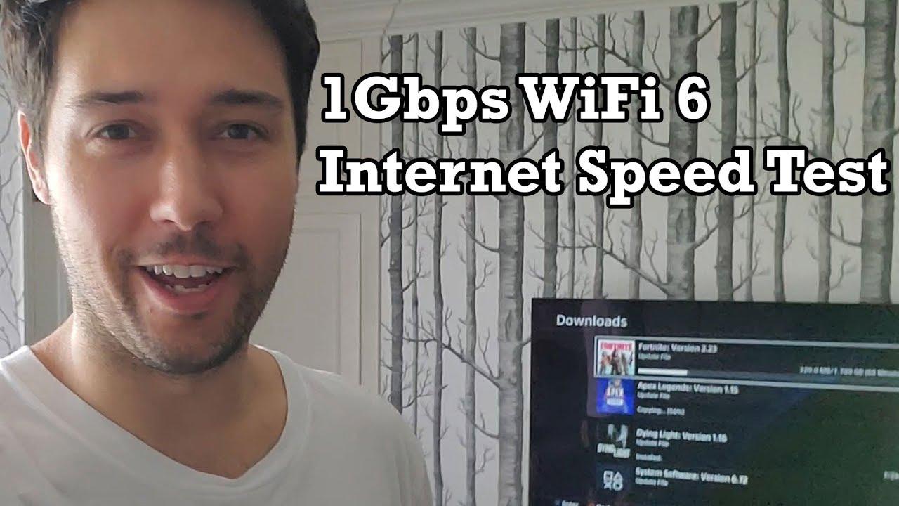 GIGABIT WiFi 6 Internet Speed Test Upgrade Experience Starry