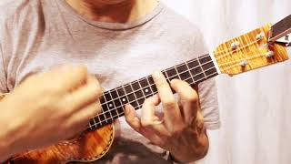 Michelle - The Beatles Cover on ukulele