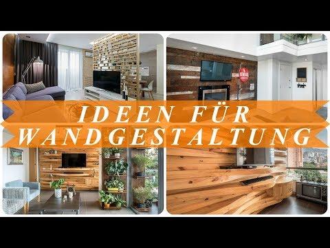 Ideen moderne wandgestaltung wohnzimmer
