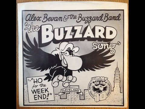 "Alex Bevan ""The Buzzard Song"" 1977 WMMS 100.7 Cleveland Ohio"