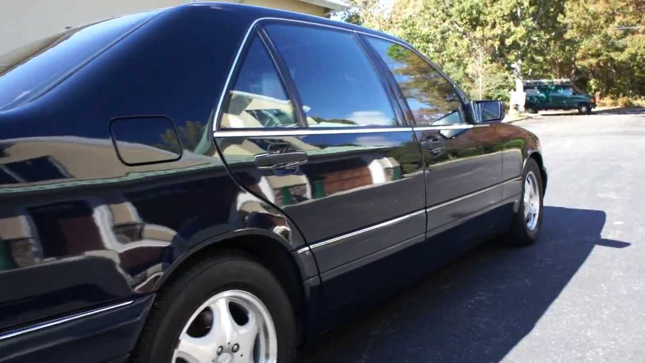 webe autos review of 1999 mercedes s500 for sale s class mercedes for sale well maintained youtube. Black Bedroom Furniture Sets. Home Design Ideas