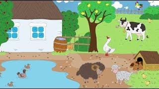 Домашние животные, которые живут на ферме! Кто такие домашние животные?