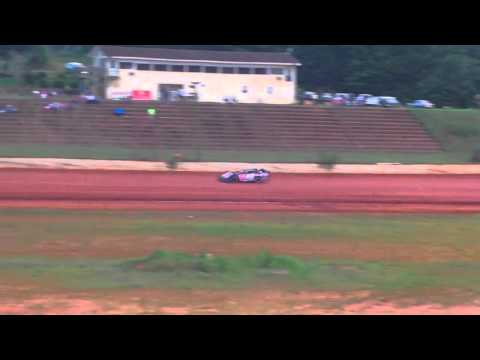 Nick Deitz Hot Lapping at Cleveland County Speedway
