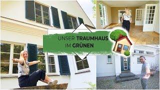 Unser Traumhaus im Grünen 🌳 | Leere Haus Tour | Folge 1 | Isabeau