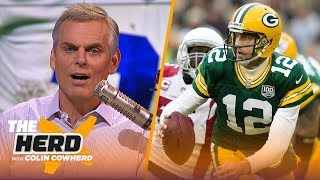 Aaron Rodgers' biggest flaw is hesitance to adapt, Zeke's impact is overstated | NFL | THE HERD