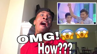 THESE KIDS WILL BLOW YOUR MIND WITH THEIR VOICE!!!! [REACTION]