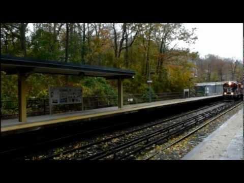 Metro North Hurricane Sandy Inspection Train (Harlem Line)