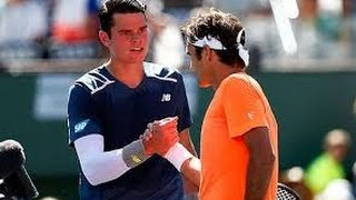Federer vs Raonic 2015 [Indian Wells Semifinal] Full Highlights HD