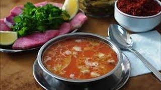 турецкий суп келе пача из костей головы и ножек барашка