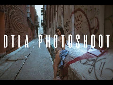DTLA Photoshoot BTS
