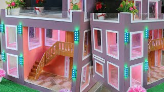 BRICKLAYING - How to Build Amazing Mini House DIY Project