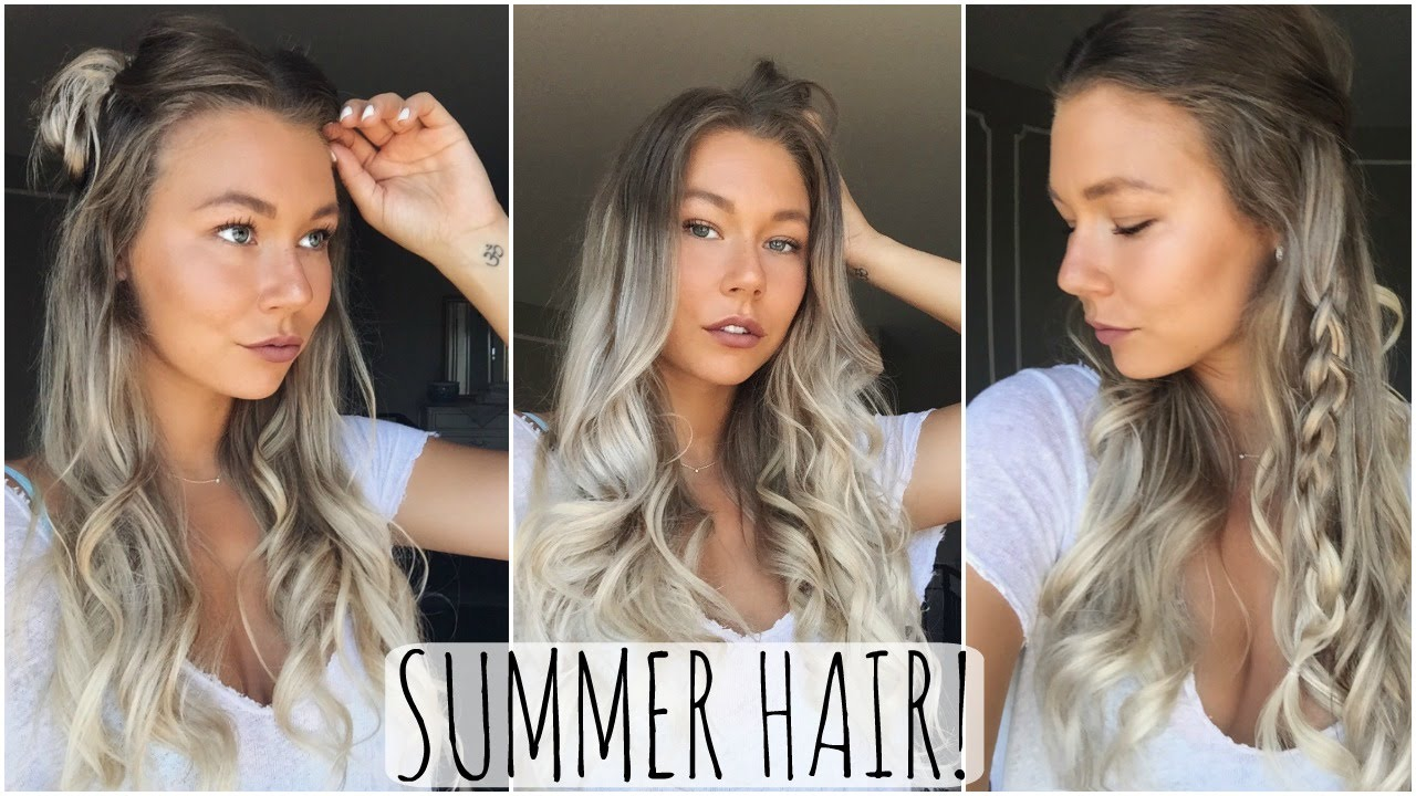 Quick Easy Summer Hairstyles Youtube