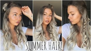 One of Alex Centomo's most viewed videos: Quick & Easy Summer Hairstyles!