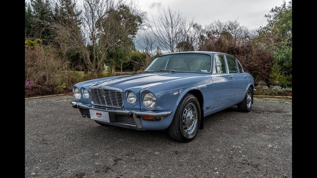 1974 Jaguar XJ12 - Waimak Classic Cars - New Zealand - YouTube