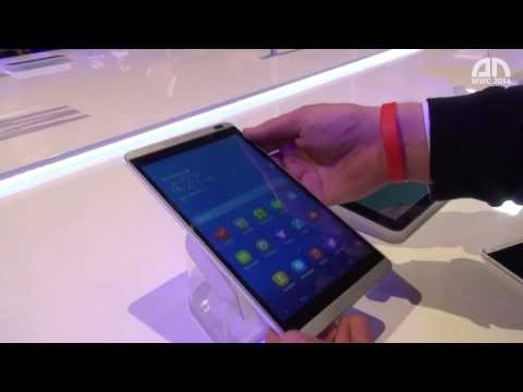Huawei MediaPad M1 8.0 - Hands-On - MWC 2014 - androidnext.de