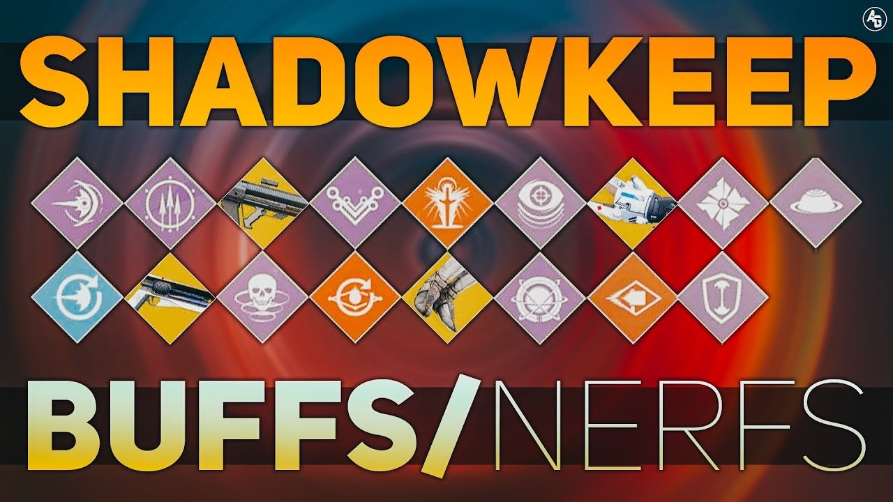 Shadowkeep SANDBOX CHANGES (Some Buffs, A LOT of NERFS, Sunshot, Graviton  Lance) | Destiny 2 News