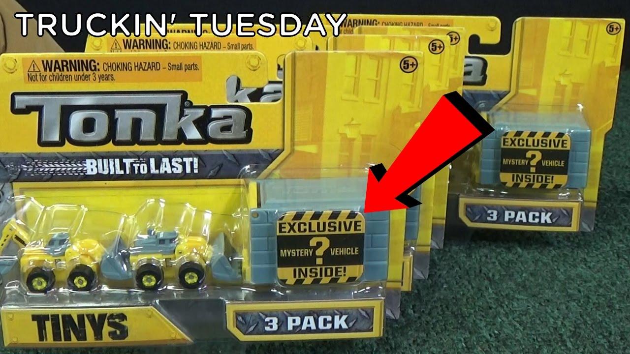 Truckin' Tuesday Tonka Tinys Exclusive Surprise Mystery Vehicle!