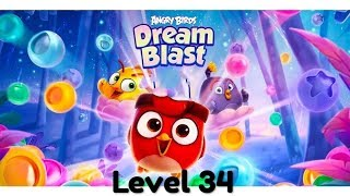 Angry Birds Dream Blast Level 34