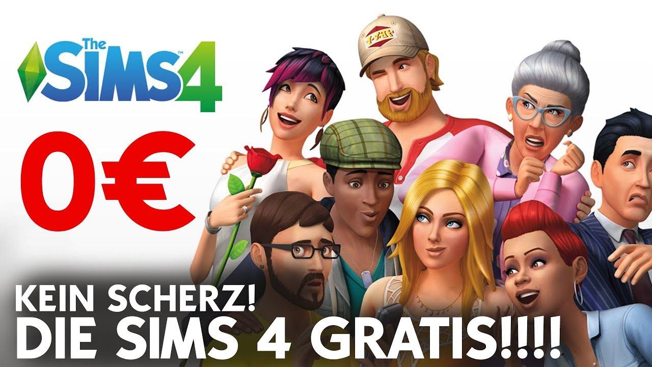 Die Sims 4 Gratis Offizielle Ea Aktion 0 Euro Fur Das Die Sims 4 Pc Mac Basis Spiel Youtube