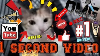WORLD'S SHORTEST VIDEO | 1 second video | 2020 | CAT POINT LIMITED |  HELL YEAH.....