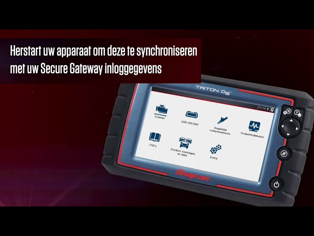Snap on Secure Vehicle Gateway Setup - Netherlands