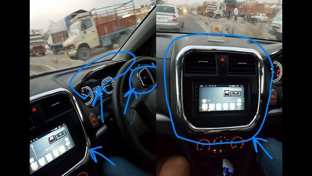 Maruti Suzuki Vitara Brezza Modified Interior Chrome Garnish Kit