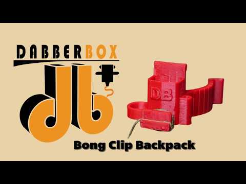 Dabberbox - Bong Clip Backpack