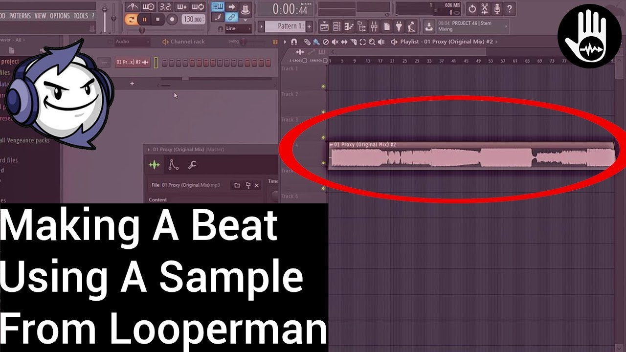 Making A Beat With Looperman - YouTube