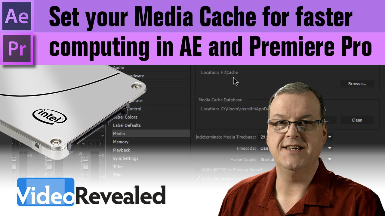 Set your Media Cache for faster computing