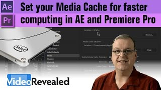 Set your Media Cache for faster computing in After Effects and Premiere Pro