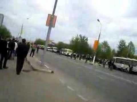 АЗЕРБАЙДЖАНЦЫ против армян- рудн 1 мая 2008