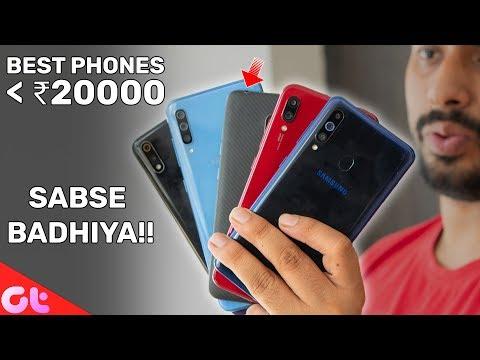 TOP 5 BEST PHONES UNDER 20000 In June 2019  | GT Hindi