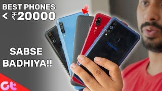 TOP 5 BEST PHONES UNDER 20000 in June 2019 | GT Hindi