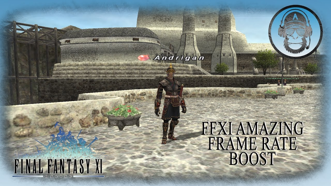 FFXI Amazing FRAMERATE BOOST!