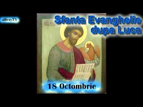 Evanghelia de la Luca audio BIBLIA 2 Noul Testament 18 octombrie
