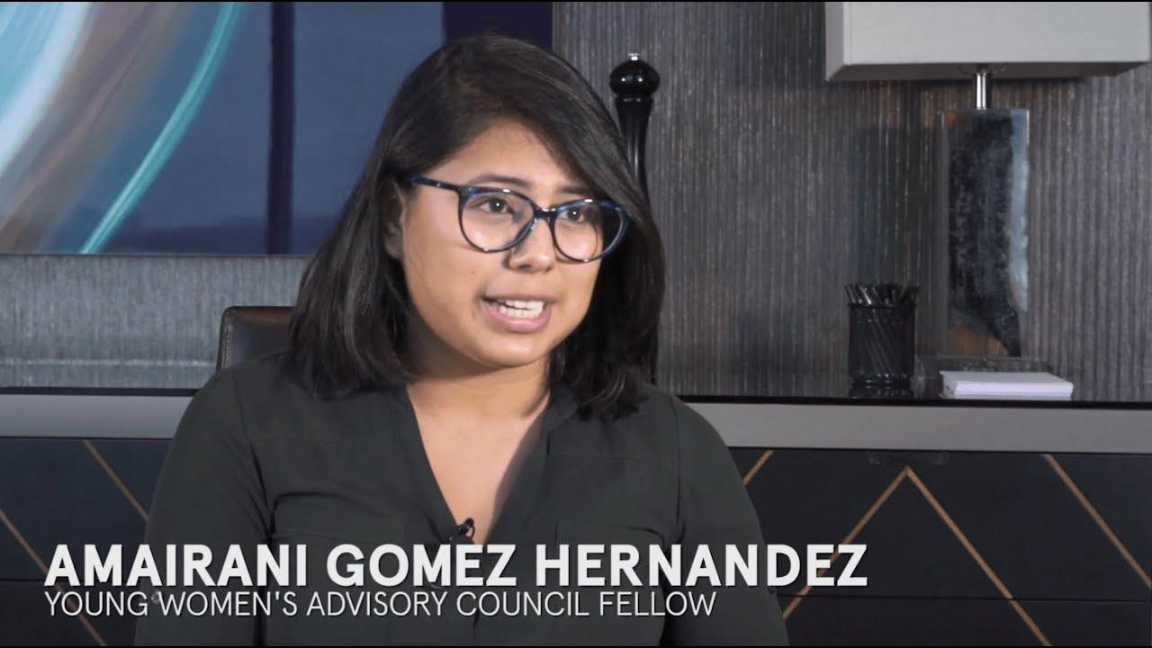 Amairani Fotos amairani gomez hernandez: giving a voice to young women