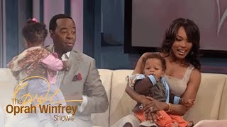 Angela Bassett and Courtney B. Vance on Raising Twins | The Oprah Winfrey Show | OWN