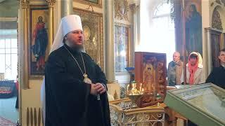 Слово митрополита Ферапонта в день усекновения главы Крестителя Господня Иоанна