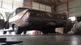 61 Impala 283 with Glasspacks