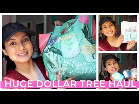 HUGE DOLLAR TREE HAUL!!! NEW FINDS! + BIG LOTS FALL HAND SOAPS!!