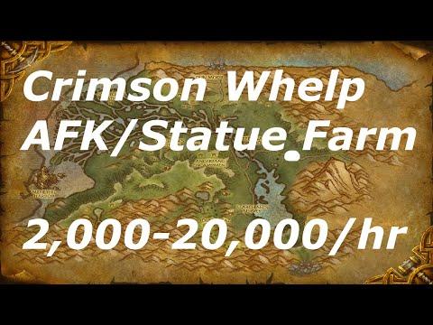 WoW 6.2.2: Instant Respawn Farming 2,000 - 20,000 Gold Per Hour Crimson Whelpling spot(monk version)