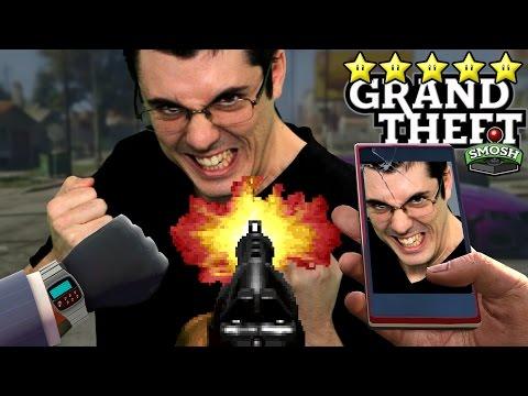 FIRST PERSON FIVE STARS (Grand Theft Smosh)