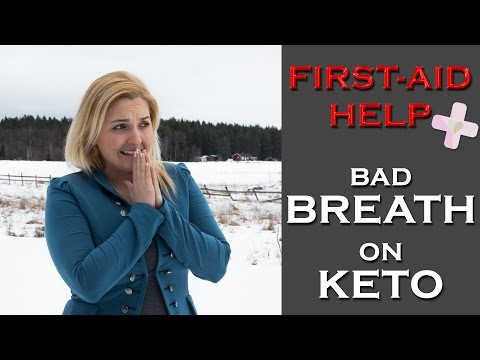 Problem With Bad Breath On Ketogenic Diet, TIPS to HELP!