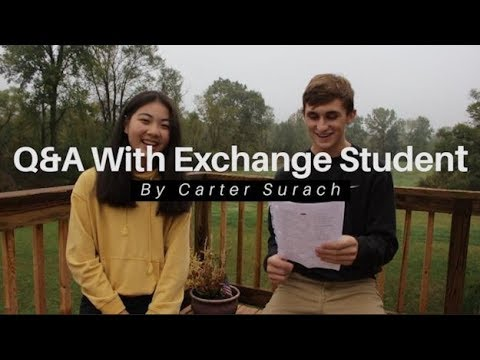 Exchange Student Q&A and Singing | Thailand to USA