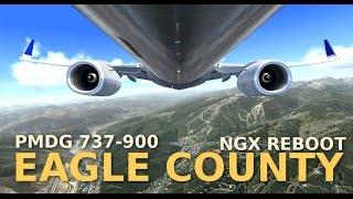 FSX EAGLE COUNTY (scenery by Orbx) + PMDG 737-900